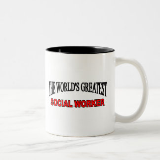 The World s Greatest Social Worker Coffee Mugs