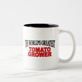 The World s Greatest Tomato Grower Coffee Mugs