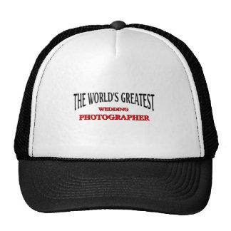 The world s greatest wedding Photographer Trucker Hat