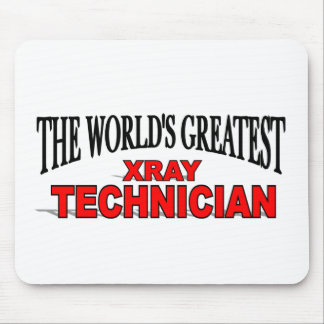 The World s Greatest Xray Technician Mouse Mat