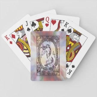 The World Tarot Card Playing Cards