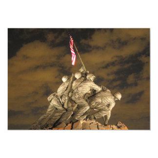 The World War II Iwo Jima Memorial Arlington VA 13 Cm X 18 Cm Invitation Card