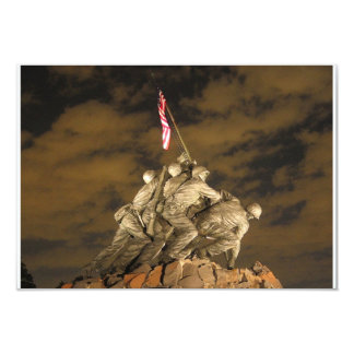 The World War II Iwo Jima Memorial Arlington VA Card