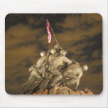 The World War II Iwo Jima Memorial Arlington VA Mouse Pad