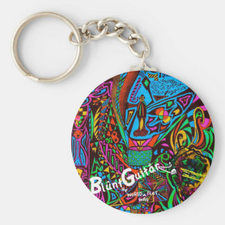 The World Was Flat Basic Round Button Key Ring