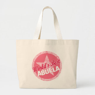 The Worlds Best Abuela Tote Bags