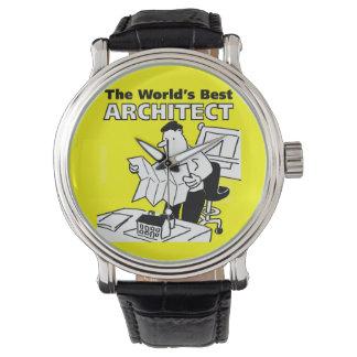 The World's Best Architect Wristwatch