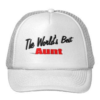 The World's Best Aunt Cap