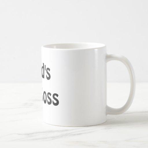 The World's Best Boss Coffee Mug