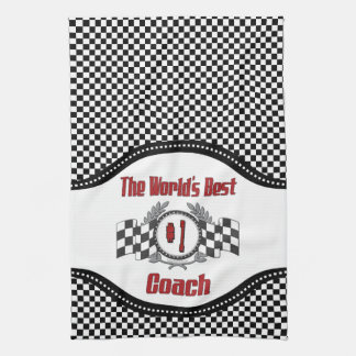 The World's Best Coach - Number One Towels