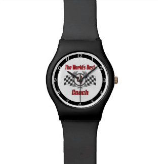 The World's Best Coach - Number One Wristwatches