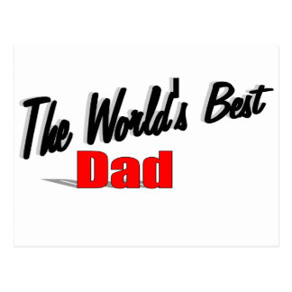 The World's Best Dad Postcard
