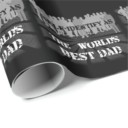 The World's Best Dad Wrapping Paper