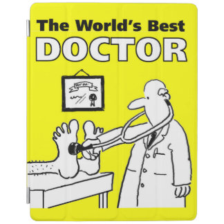 The World's Best Doctor iPad Cover