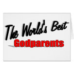 The World's Best Godparents Card