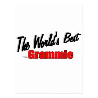 The World's Best Grammie Postcard