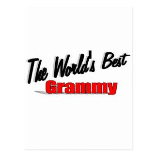 The World's Best Grammy Postcard