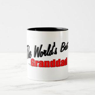 The World's Best Granddad Two-Tone Coffee Mug