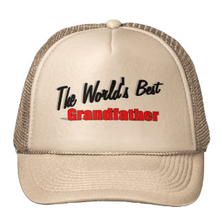 The World's Best Grandfather Hat