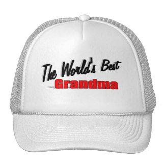 The World's Best Grandma Trucker Hat
