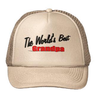 The World's Best Grandpa Cap