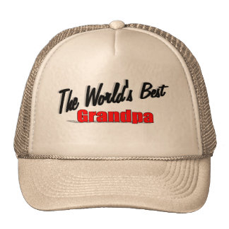The World's Best Grandpa Hats