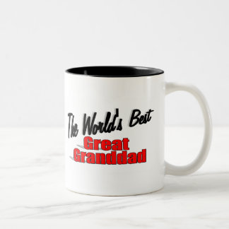 The World's Best Great Granddad Mugs