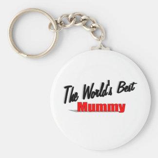 The World's Best Mummy Key Ring