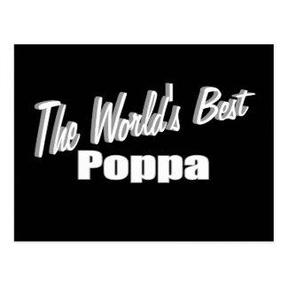 The World's Best Poppa Postcard