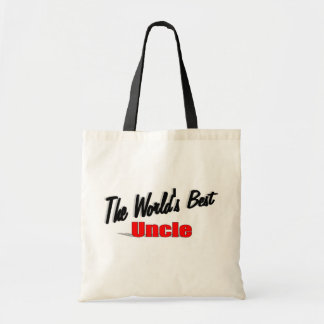 The World's Best Uncle Tote Bags