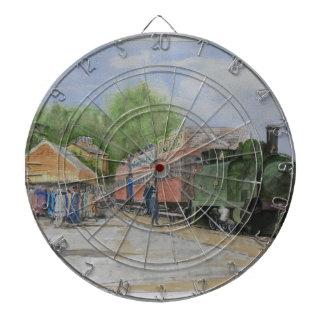 The World's first railway Dartboard