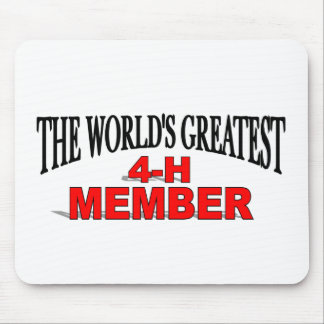 The World's Greatest 4-H Member Mousemat