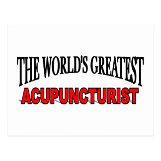 The World's Greatest Acupuncturist Post Cards