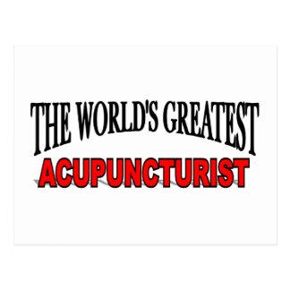 The World's Greatest Acupuncturist Postcard