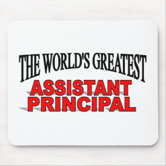 The World's Greatest Assistant Principal Mouse Mat