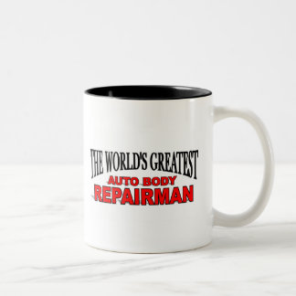 The World's Greatest Auto Body Repairman Coffee Mug