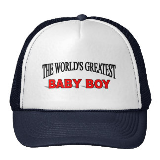The World's Greatest Baby Boy Trucker Hats