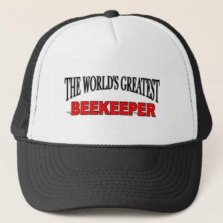 The World's Greatest Beekeeper Trucker Hat
