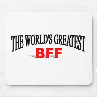The World's Greatest BFF Mouse Pad