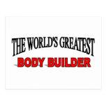 The World's Greatest Body Builder Postcard