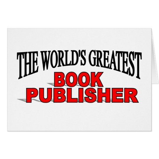 The World's Greatest Book Publisher Card