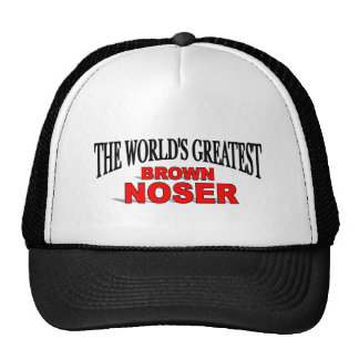 The World's Greatest Brown Noser Cap