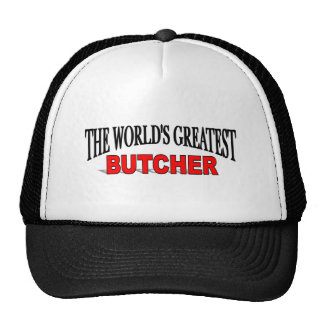 The World's Greatest Butcher Cap
