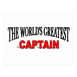 The World's Greatest Captain Postcard