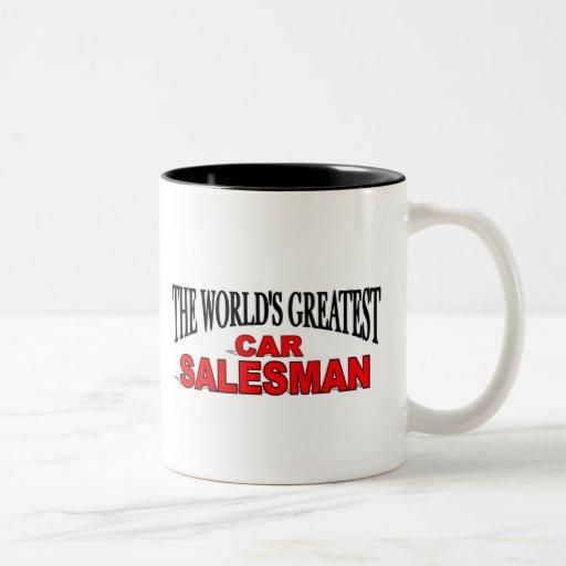 The World's Greatest Car Salesman Mug