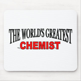 The World's Greatest Chemist Mouse Mats