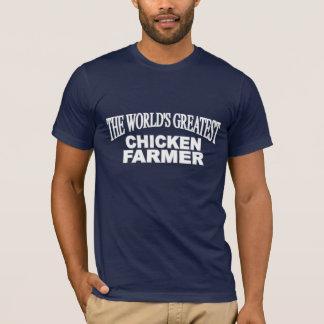 The World's Greatest Chicken Farmer T-Shirt