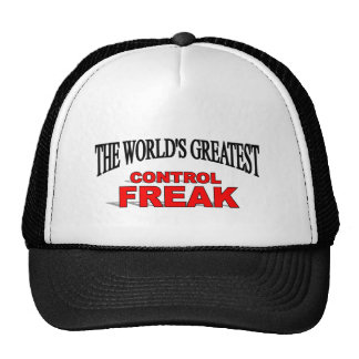 The World's Greatest Control Freak Mesh Hats