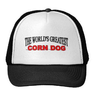The World's Greatest Corn Dog Trucker Hats