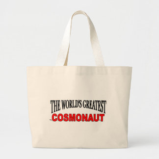 The World's Greatest Cosmonaut Tote Bags